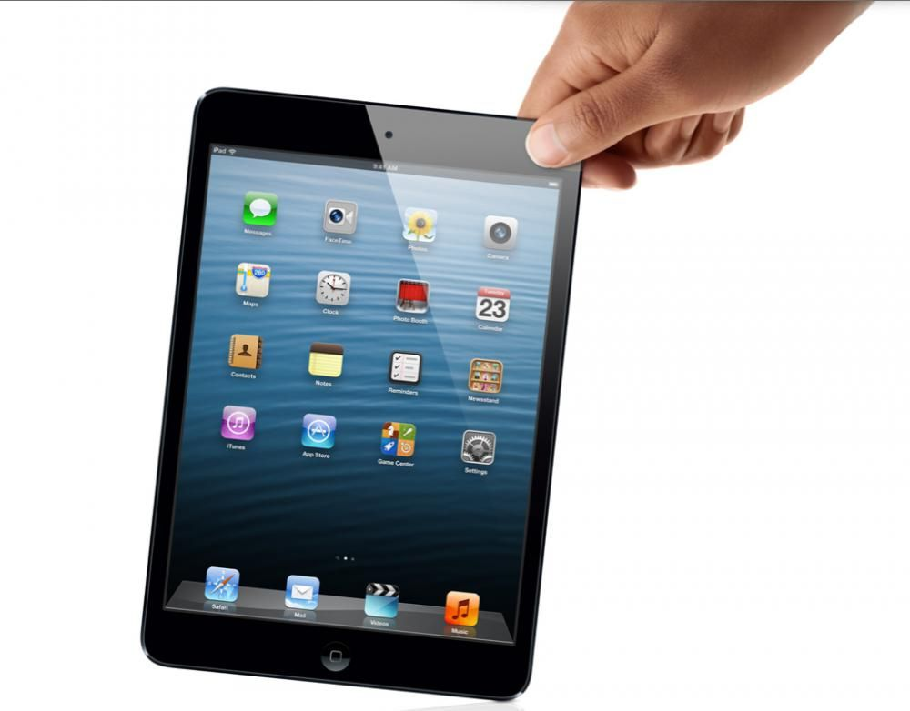 Zoom iPad Mini Apple 64GB 3G e Wi-Fi Preto